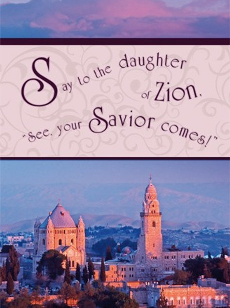 Greeting Card - Zion