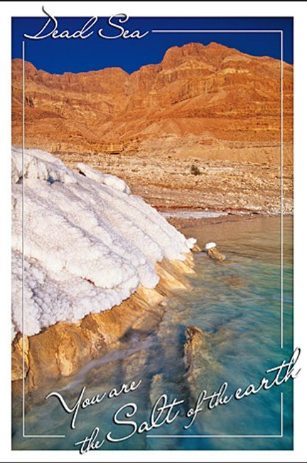 Greeting Card - Salt of the earth