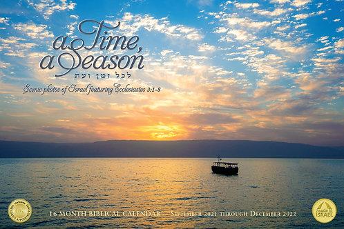 A Time, A Season Calendar