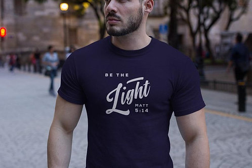 Faith T-Shirts BE THE LIGHT Matthew 5 14 T Shirt