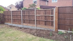 Fencing with new po