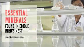 Essential Minerals Found in Edible Bird Nest.