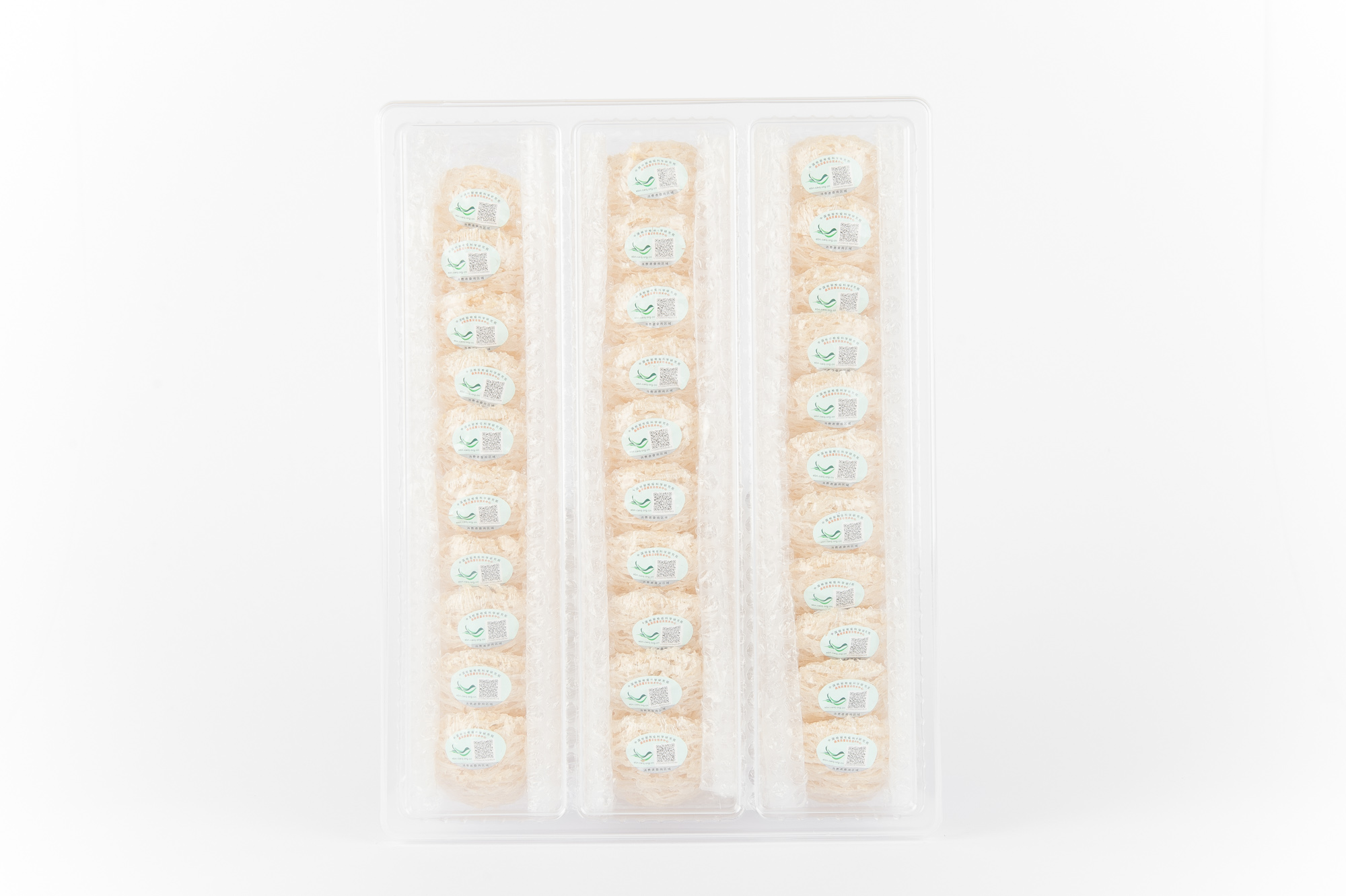 รังนกถ้ำดอกสีขาว(ใบไม้) 250 กรัม