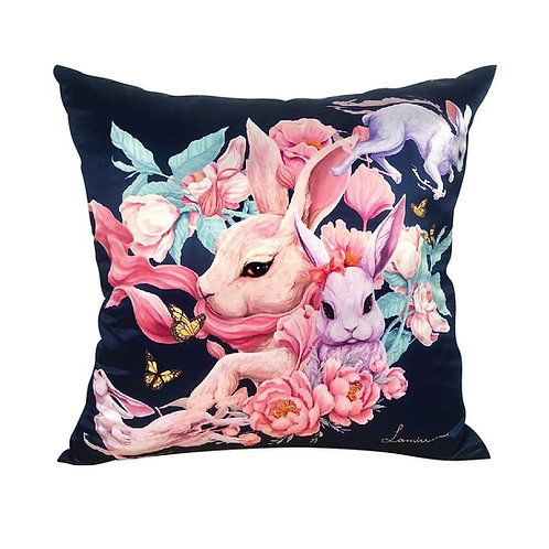 Luxury Bunny Cushions 18""