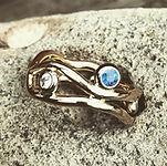 blå diamant, blue diamond