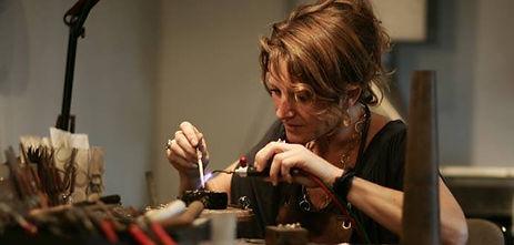 Anne-Lene Jappe, guldsmed i århus, guldsmed i Galten, dansk design smykker, alguld