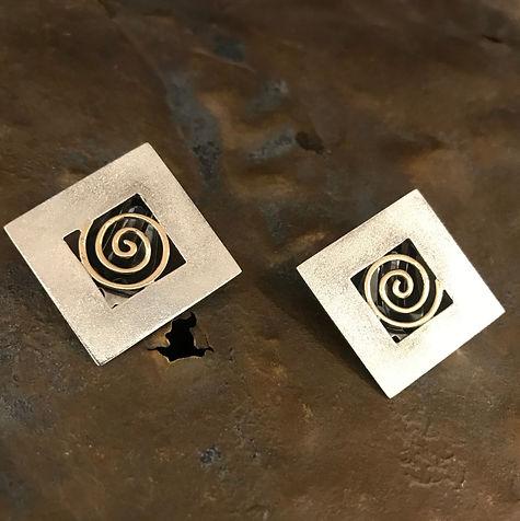 øreringe med clips alguld