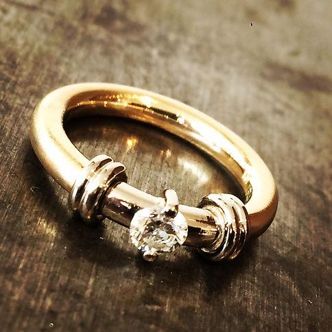 forlovelsesring alguld