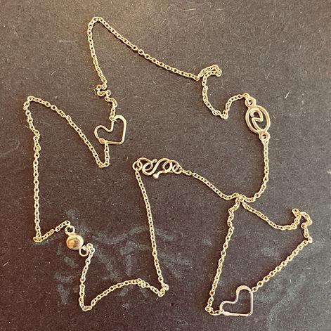 initialer i guld alguld