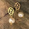 alguld perleøreringe