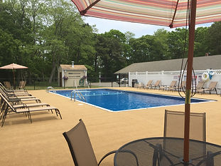 outdoor pool, sit back and relax on cape co