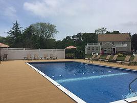 large outdoor pool, eastham ma cape cod