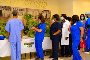 Howard University Hospital Nurse Donations