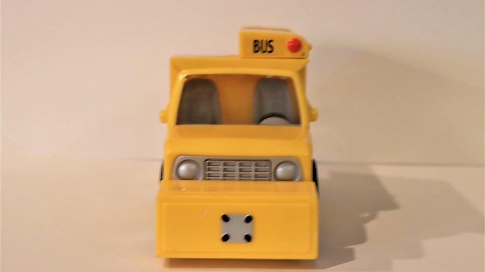 2004 Funrise Monster Garage Skool Bus Pontoon Boat Yellow