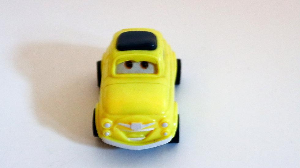 Disney/Pixar Luigi Fiat 500 Yellow