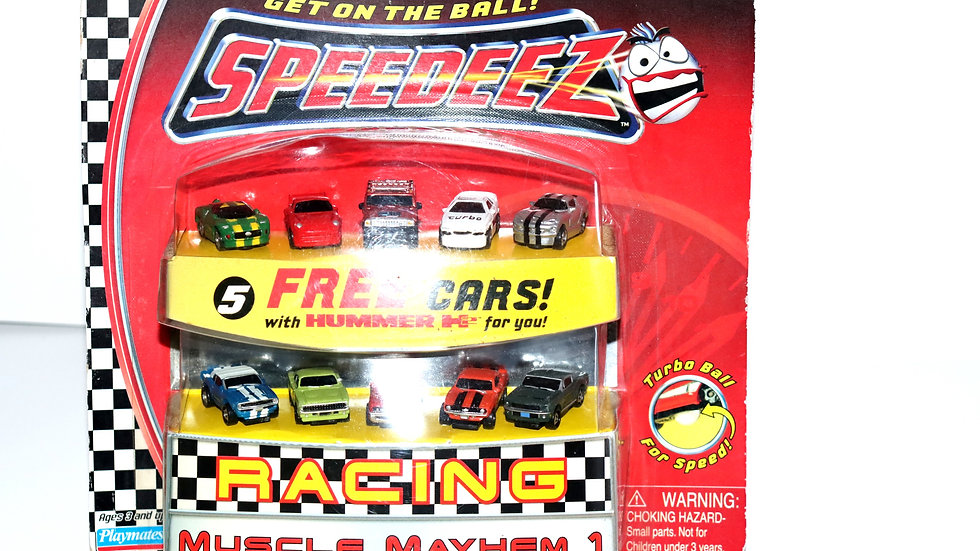 2003 Speedez Muscle Mayhem 1 Racing Cars