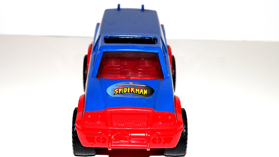 Marvel 2002 Ultimate Marvel Spiderman off-road racing toy truck