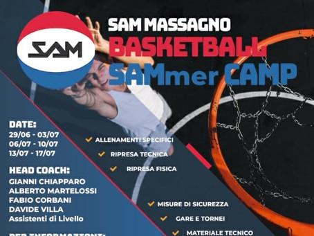L'estate inizia con il SAMmer Camp!