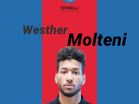 Comunicato stampa: Westher Molteni ritorna a Massagno!