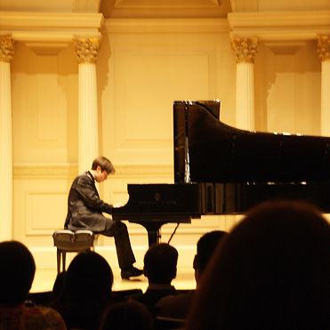 Vladimir Tiagunov at Carnegie Hall
