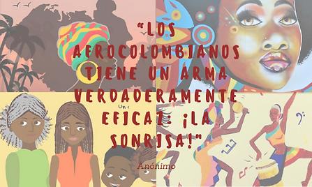 """""""Los afrocolombianos tiene un arma verda"""