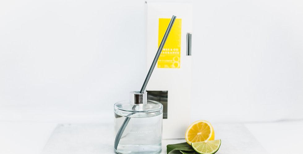 No. 8  Lemon 300ml Reed Diffuser