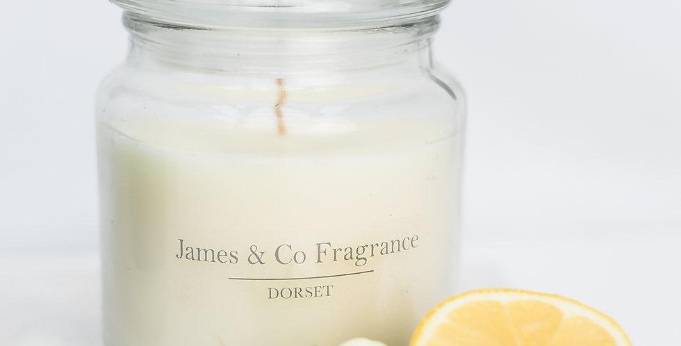 No. 3 Blue Jar Candle 60 hour burn time