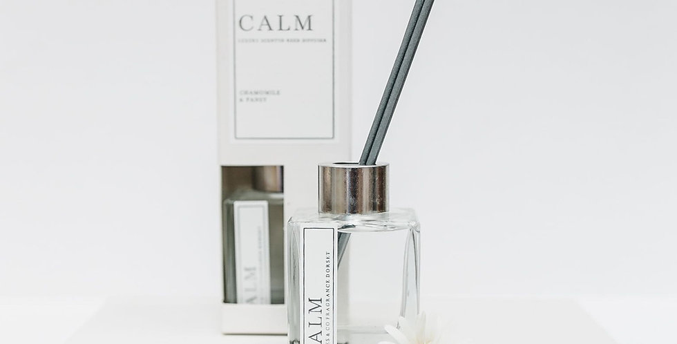 Calm 100ml Reed Diffuser (Chamomile & Pansy)