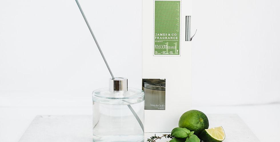 No. 11 Lime & Basil 300ml Reed Diffuser
