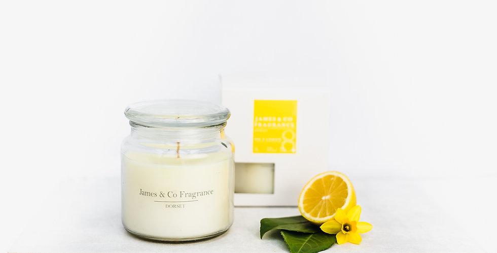 No. 8 Lemon Jar Candle 60 burn time