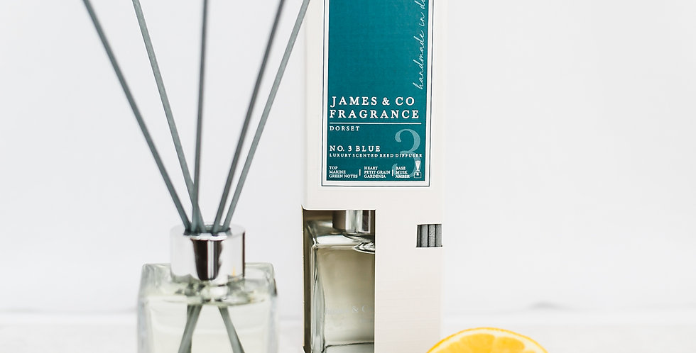 No. 3 Blue 100ml Reed Diffuser