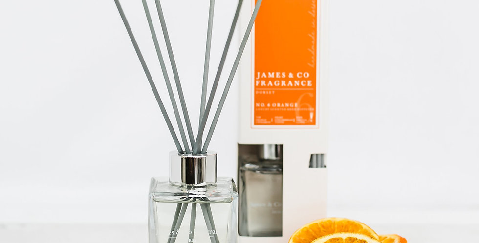 No. 6 Orange 100ml Reed Diffuser