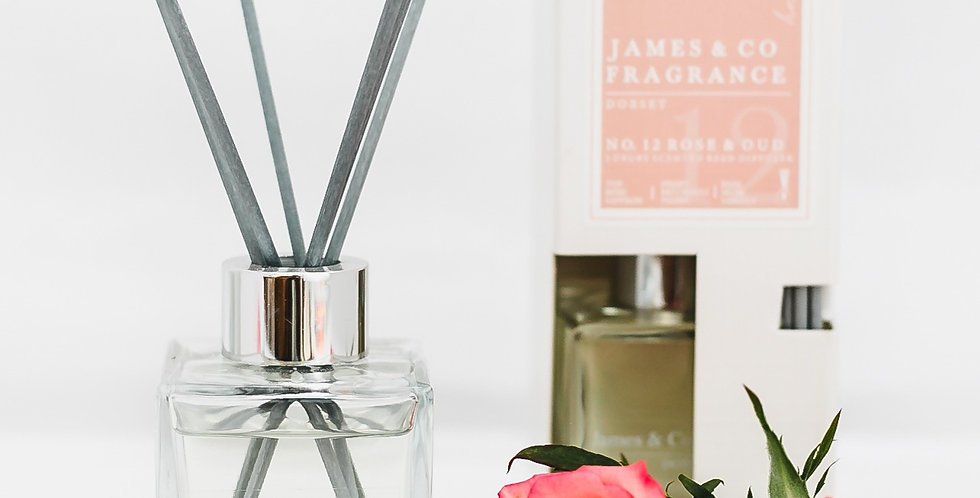 No. 12 Rose & Oud 100ml Reed Diffuser
