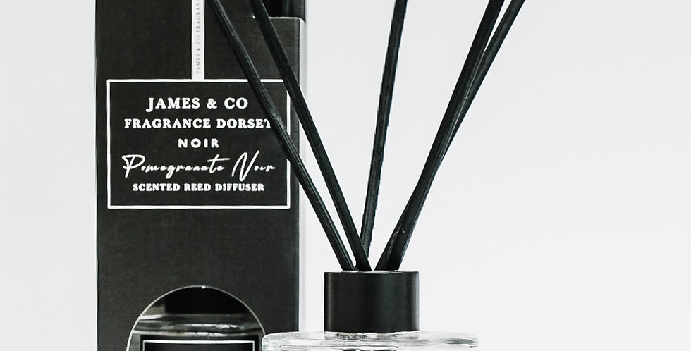 Pomegranate Noir 100ml LUXE Reed Diffuser