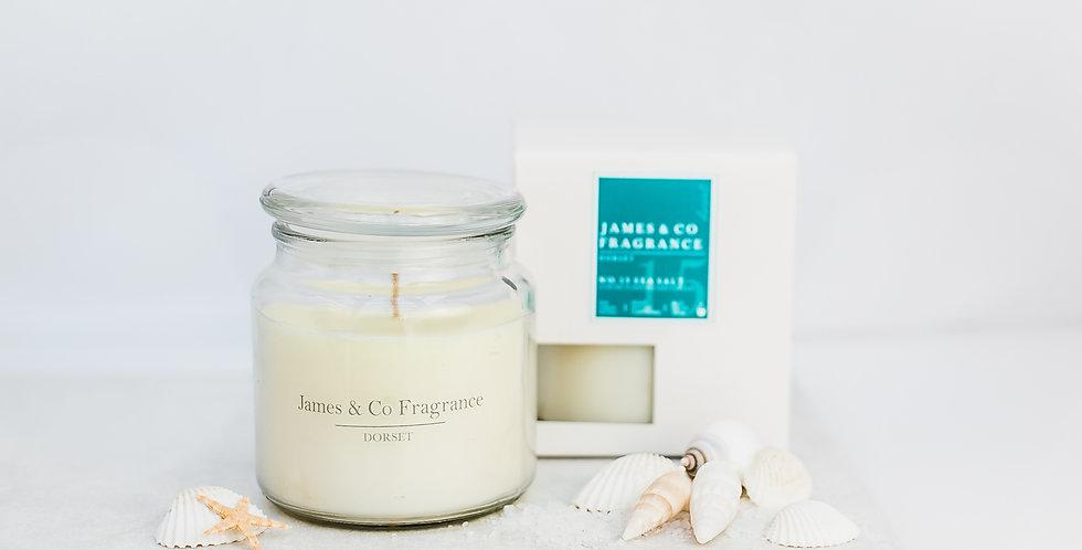 No. 15 Sea Salt Jar Candle 60 hours burn time