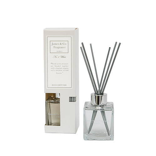 No. 1 White 100ml Reed Diffuser