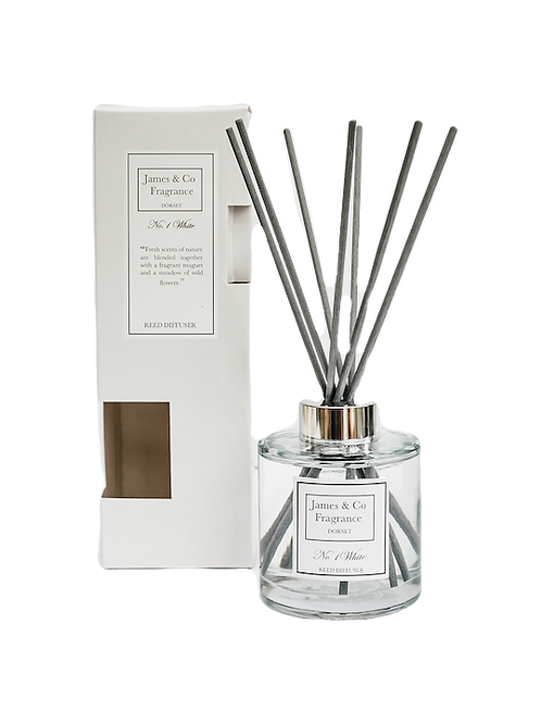 No. 1 White 300ml Reed Diffuser