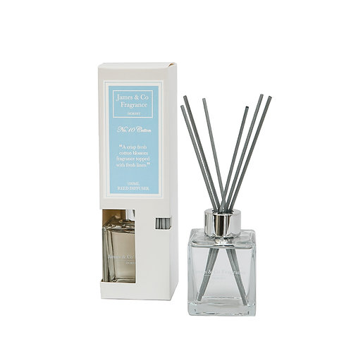No. 10 Cotton 100ml Reed Diffuser