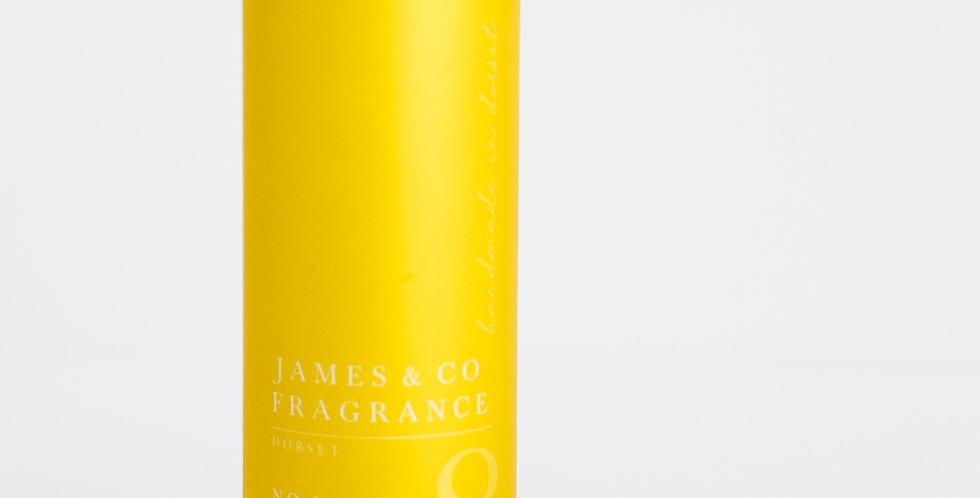 No. 8 Lemon 200ml Refill Diffuser with Grey Fibre Reeds