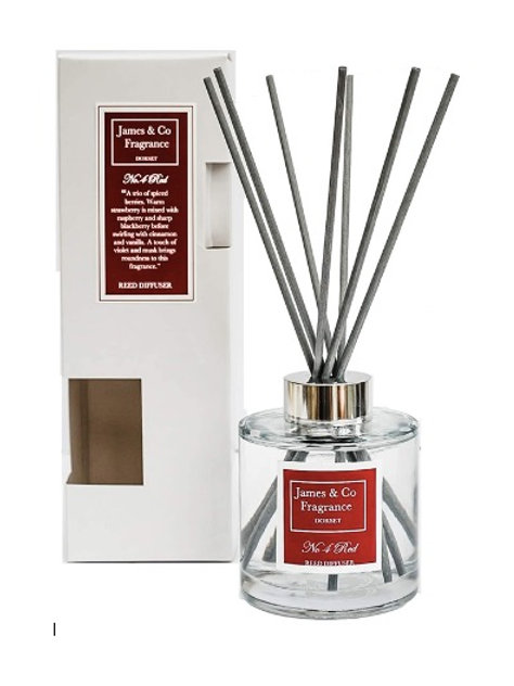 No. 4 Red 300ml Reed Diffuser