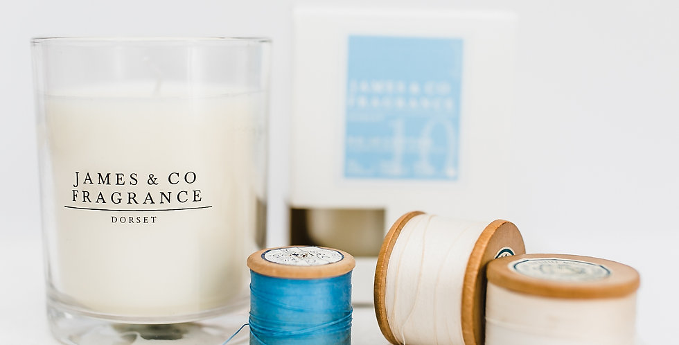 No. 10 Cotton Glass Candle 35 hours burn time