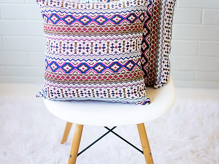 New Arrival | Multicolour Geometric Cushion