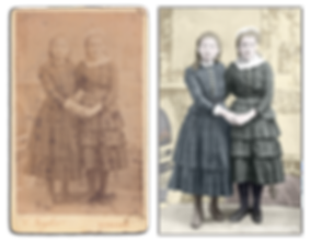 Old Photos restored and coloured