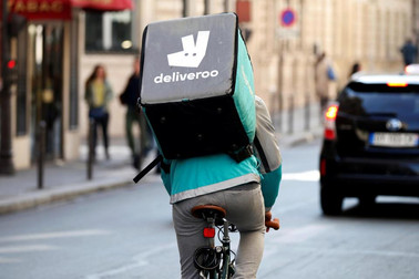 PULLING A FAST ONE Deliveroo loophole lets 'substitute riders' slip security checks for hygiene and