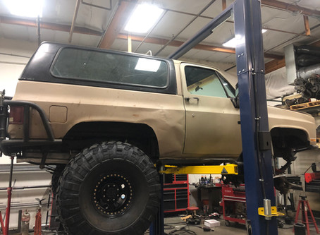In The Shop This Week: GMC Jimmy Axle Upgrades
