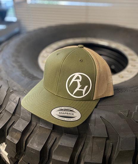 Green Rock Hound Trucker Hat