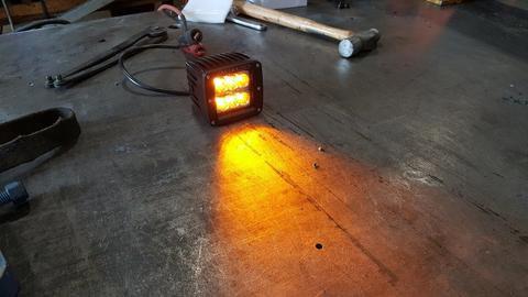 Amber LED Pod