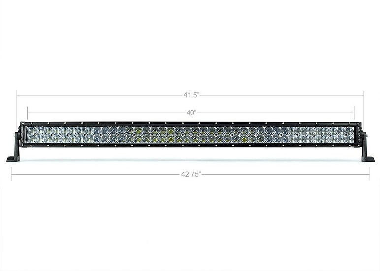 "42"" Dual Row 5D Optic OSRAM LED Bar"