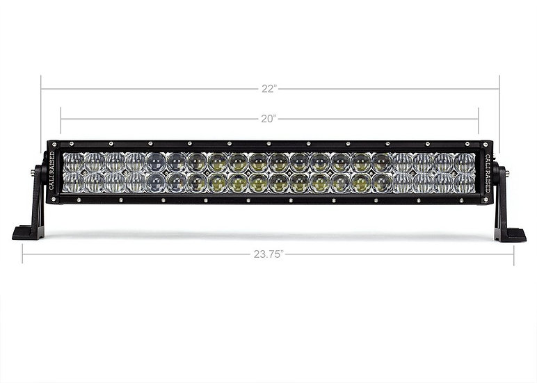 "21.5"" Dual Row 5D Optic OSRAM LED Bar"