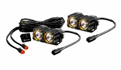 KC FLEX™ Dual LED - 2-Light System - 20W Spread Beam - #268